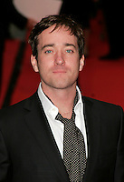 MATTHEW MacFADYEN.Red Carpet Arrivals for the British Academy Television Awards 2008, held at the London Palladium, London, England, .April 20th 2008. .BAFTA BAFTA's headshot portrait stubble facial hair cravate polka dot black white .CAP/AH.©Adam Houghton/Capital Pictures.
