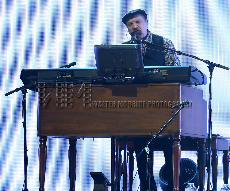 The Rascals: (L-R) Felix Cavalierei performing press preview of their new Broadway Concert Show 'The Rascals: Once Upon A Dream' at  the Richard Rodgers Theatre in New York City on 4/15/2013...