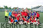 Enjoying the St. Brendans Park Football Club Summer Camp on Tuesday