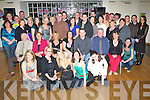 Celebrations - Nora Falvey from Abbeydorney, seated centre having a ball with friends and family at her 30th birthday party held in The Ballyroe Heights Hotel on Friday night.   Copyright Kerry's Eye 2008