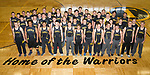 April 26, 2017- Tuscola, IL- The 2017 Warrior Boys Track & Field team. Back row from left are Hunter Kauffman, Joey Lopez, Joe Downs, Dalton Donnals, Trent Ponder, Andy Salmon, Raymond Kerkhoff, Will Bosch, Josiah Lemay, Adam Bratten, Anthony Guo, and Chase Robinson. Third row from left are Josh Dyer, John Hill, Turner Hastings, Gage Russell, Robert Steepleton, Noah Woods, Hunter Woodard, Dakota Denny, Ben Dixon, and Jacob Kibler. Second row from left are Michael Holmes, Eric Brewer, C.J. Picazo, Bradley Kramer, Cade Morgan, Andrew Poskin, Bradly Mast, Nicholas Woods, Colin Lewis, Nick Williams, and Gibson Wells. Front row from left are Marcus Holmes, Caden Cradle, Matthew Cantu, Cameron Homann, J.D. Barrett, Tanner Campbell, Jordan Middleton, Jake Reed, Brandon Douglas, Ashton Jones, Colter Lewis, and Mason Day. [Photo: Douglas Cottle]