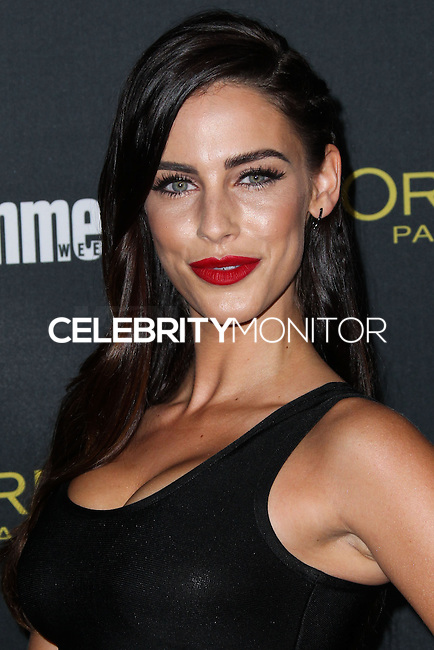 WEST HOLLYWOOD, CA, USA - AUGUST 23: Jessica Lowndes arrives at the 2014 Entertainment Weekly Pre-Emmy Party held at the Fig & Olive on August 23, 2014 in West Hollywood, California, United States. (Photo by Xavier Collin/Celebrity Monitor)