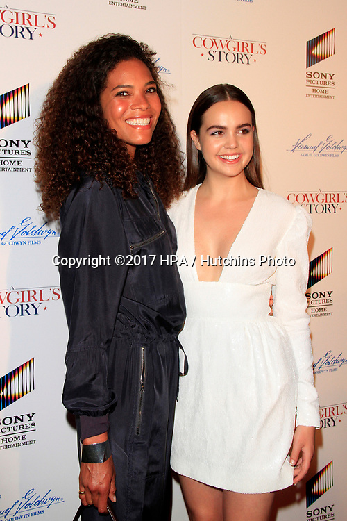 """LOS ANGELES - APR 13:  Monica Lawson, Bailee Madison at the """"A Cowgirl's Story"""" Premiere at the Pacific Theatres at The Grove on April 13, 2017 in Los Angeles, CA"""