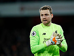 Liverpool's Simon Mignolet in action during the premier league match at the Emirates Stadium, London. Picture date 22nd December 2017. Picture credit should read: David Klein/Sportimage
