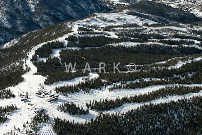 Keystone Ski Area. Dercum, Summit Express Lift. March 2014