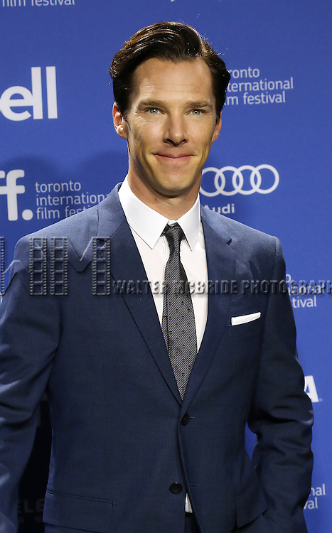 "Benedict Cumberbatch attending the 2013 Tiff Film Festival Photo Call for ""The Fifth Estate""  at Tiff Lightbox on September 6, 2013 in Toronto, Canada."