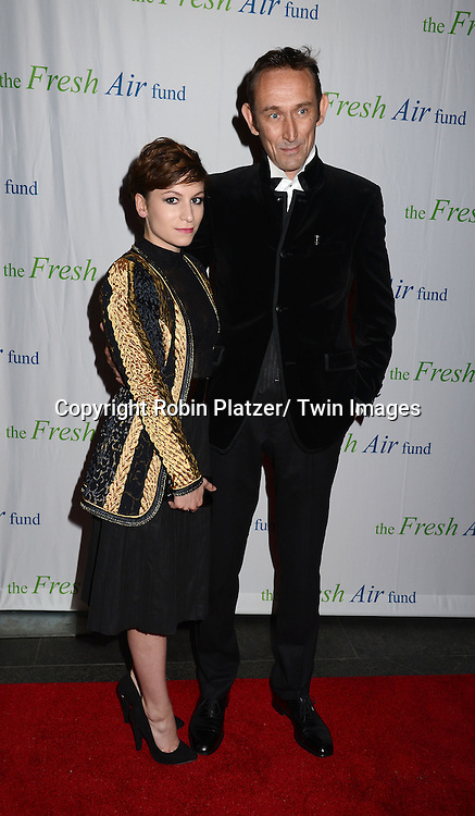 Charlotte and Cedric B von Sydow attend The Fresh Air Fund Salute to Mariah Carey on May 29, 2014 at Pier Sixty at Chelsea Piers in New York, New York, USA.