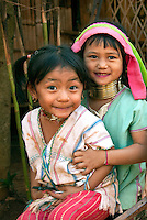 I spent several hours in a Kayah hill tribe village in northern Thailand that tourist usually cruise through in 20 minutes snapping shots of the long-neck women as they pass. Like many complicated stories, the plight of these refugees from war and genocide in Myanmar (formally known as Burma) is has turned them into a tourist spectacle. However, the joy and innocence of children can always brighten the day if you take the time to play.