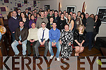 Twins Adrian and Anthony Cremin, Carnahone, Beaufort, pictured with their parents Owen and Kathleen, brother Damien, sister Siobhan, family and friends as they celebrated their 21st birthday's in The Granary Bar, Killarney, on Saturday night.