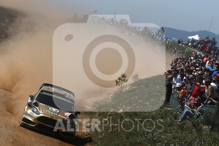Henning Solberg ( NOR )  - Ilka Minor  ( AUS )  -  Ford Fiesta WRC
