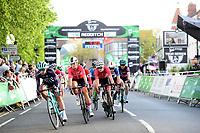 Picture by Simon Wilkinson/SWpix.com 10/05/2018 - Cycling, OVO Energy Tour Series Women's Race, Redditch Megan Barker Team Breeze Team Breeze