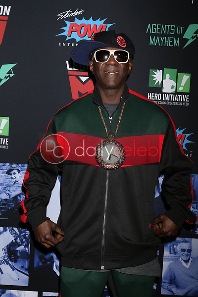 """Flavor Flav<br /> at """"Excelsior! A Celebration of the Amazing, Fantastic, Incredible & Uncanny Life of Stan Lee,"""" TCL Chinese Theater, Hollywood, CA 01-30-19<br /> David Edwards/DailyCeleb.com 818-249-4998"""