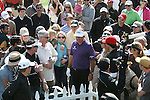 02/18/12 Pacific Palisades, CA:  Phil Mickelson during the third round of the Northern Trust Open held at the Riviera Country Club