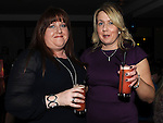 Martina Saurin celebrating her  birthday in Brú with friend  Sandra Fealy. Photo:Colin Bell/pressphotos.ie