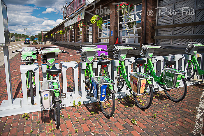 Five Rivers Metro Parks bike rental located at Second Street Market