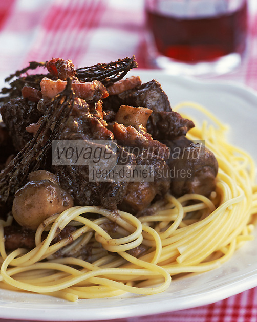 Europe/France/Bourgogne : Boeuf Bourguignon