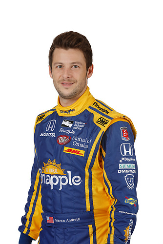 2 February, 2016, Indianapolis, Indiana USA<br /> Marco Andretti<br /> &copy;2016, Michael L. Levitt<br /> LAT Photo USA