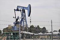 - ENI oil well &quot;Cavone&quot; in Mirandola municipality (Modena)<br /> <br /> - pozzo di petrolio ENI &quot;Cavone&quot; nel comune di Mirandola (Modena)