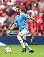 Ilkay Gundogan of Manchester City during the FA Community Shield match between Liverpool and Manchester City at Wembley Stadium on August 4th 2019 in London, England. (Photo by John Rainford/phcimages.com)<br /> Foto PHC/Insidefoto <br /> ITALY ONLY
