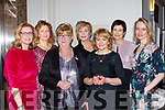 Glenflesk ladies l-r: Marguerite Hickey, Anne Kelly, Patricia O'Donoghue, Helena Buckley, Margaret O'Donoghue, Anne Lynch, and Melissa Culloty at the Fauwlty Towers Womens Christmas in the Brehon Hotel on Saturday night