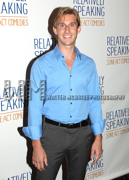 Bill Amy.attends the Meet & Greet the Cast of Broadway's 'Relatively Speaking' at Sardi's in New York City.