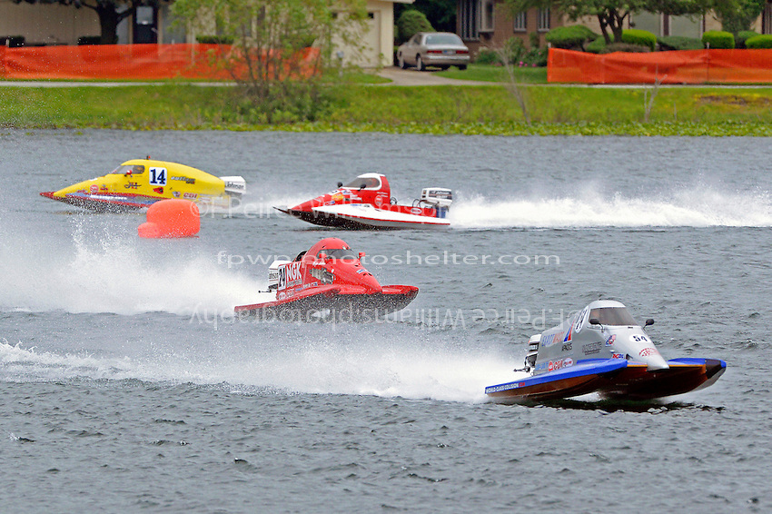 Chris Swanson, #54, Hayden Jacobson, (#24), Haley Gibbs, (#14) and Don Wilson, (#9)<br /> <br /> 31 May, 2015, La Porte, Indiana, USA<br /> Maple City Grand Prix <br /> <br /> ©2015, Sam Chambers<br />   (SST-45 class)