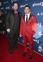 13 April 2018 - Beverly Hills, California - Chris Hansen, Javier Nava. 29th Annual GLAAD Media Awards at The Beverly Hilton Hotel. Photo Credit: F. Sadou/AdMedia
