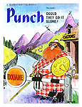 Punch cover 3 - 9 April 1974. Could they go it alone?