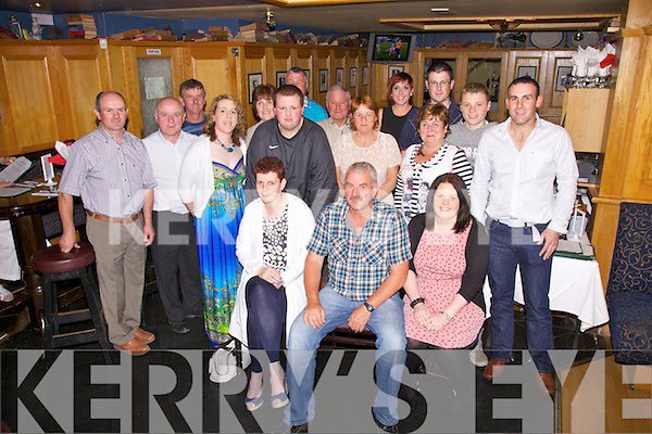 Seamus 'Baff' O'Connor seated front centre from Valentia Island celebrated his 50th birthday with family at The Ring of Kerry Hotel Cahersiveen on Saturday night.