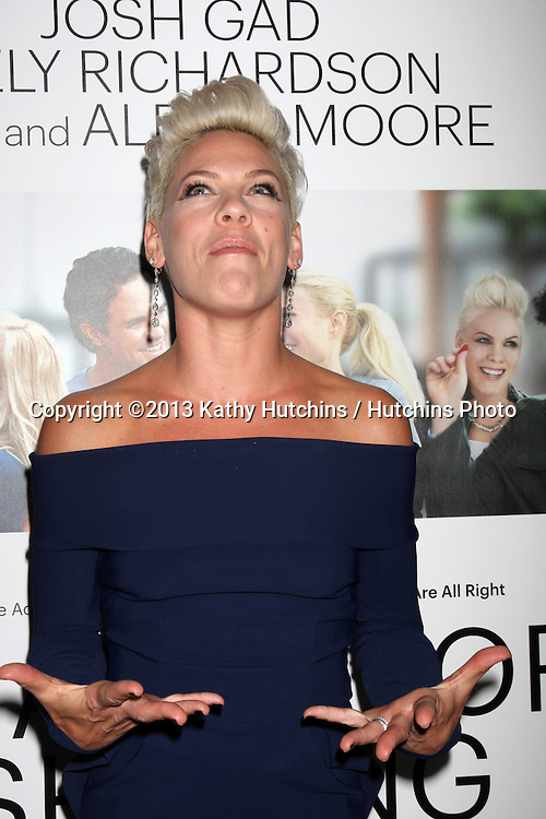 """LOS ANGELES - SEP 16:  Alecia Moore, aka Pink at the """"Thanks for Sharing"""" Premiere  at ArcLight Hollywood Theaters on September 16, 2013 in Los Angeles, CA"""