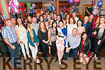 Surprise 18th Birthday: Clodagh Foley, Ballylongford celebrating her surprise 18th birthday with Family & friends at Christy's Bar, Listowel on Friday night last.