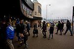 Everton 2 Wolves 1, 19/11/2011. Goodison Park, Premier League. Everton megastore. Photo by Paul Thompson.
