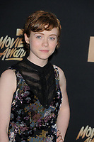 Sophia Lillis at the 2017 MTV Movie &amp; TV Awards at the Shrine Auditorium, Los Angeles, USA 07 May  2017<br /> Picture: Paul Smith/Featureflash/SilverHub 0208 004 5359 sales@silverhubmedia.com