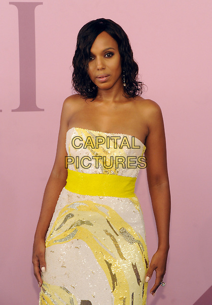NEW YORK, NY - JUNE 5: Kerry Washington at the 2017 CFDA Fashion Awards at The Hammerstein Ballroom in New York City on June 5, 2017. <br /> CAP/MPI/JP<br /> &copy;JP/MPI/Capital Pictures