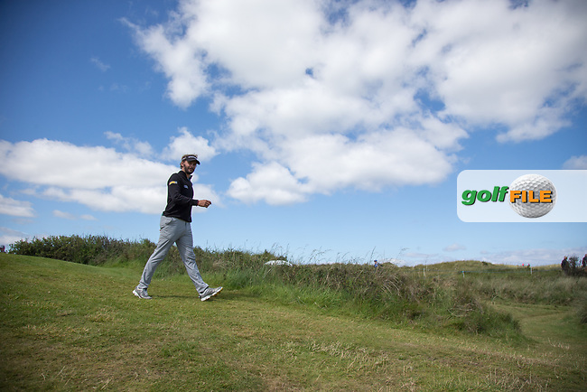 Joost Luiten (NED) on the 16th during the 3rd round at the Dubai Duty Free Irish Open hosted by the Rory Foundation, at Portstewart Golf Club, Portstewart, Co. Derry, Northern Ireland. 08/07/2017<br /> Picture: Golffile | Fran Caffrey<br /> <br /> <br /> All photo usage must carry mandatory copyright credit (&copy; Golffile | Fran Caffrey)