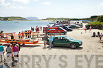 A fine day drew a huge attendance for the Ballinskelligs Regatta on Sunday.