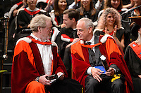 Sir Ridley Scott and Luc Tuymans Honorary Doctorate at the Royal College of Art Convocation 2015