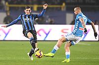 Marten de Roon-Marek Hamsik<br /> Bergamo 3-12-2018 Stadio Atleti Azzurri d'italia Football Calcio Serie A 2018/2019 Atalanta - Napoli Foto Matteo Gribaudi / Image Sport / Insidefoto