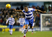 Nedum Onuoha of Queens Park Rangers in action during the Sky Bet Championship match between Millwall and Queens Park Rangers at The Den, London, England on 29 December 2017. Photo by Carlton Myrie / PRiME Media Images.