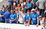 09.07.2019: St Joseph's v Rangers: Rangers fans