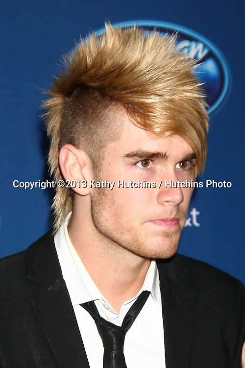 LOS ANGELES - JAN 9:  Colton Dixon attends the 'American Idol' Premiere Event at Royce Hall, UCLA on January 9, 2013 in Westwood, CA