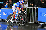 Arnaud Demare (FRA) FDJ in action during Stage 1, a 14km individual time trial around Dusseldorf, of the 104th edition of the Tour de France 2017, Dusseldorf, Germany. 1st July 2017.<br /> Picture: Eoin Clarke | Cyclefile<br /> <br /> <br /> All photos usage must carry mandatory copyright credit (&copy; Cyclefile | Eoin Clarke)