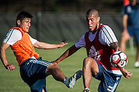 Action photo during training prior to Argentina quarter- final against Venezuela Selection.<br /> <br /> Foto de accion durante el Entrenamiento de Argentina previo a su partido de cuartos de Final contra la Seleccion de Venezuela, en la foto: Jonathan Maidana<br /> <br /> <br /> 17/06/2016/MEXSPORT/PHOTOGAMMA/Javier Gonzalez.