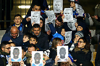 "Supporters of Napoli show picture of Kalidou Koulibaly with the word ""we are all Kalidou"" . <br /> The player was victim of racist chants by Inter fans during the last matchday in Milano. <br /> Napoli 29-12-2018 Stadio San Paolo Football Serie A 2018/2019 Napoli - Bologna<br /> Foto Stringer / Insidefoto"