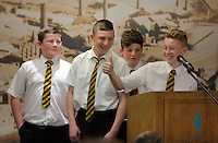 Pictured: Ysgol Maesteg School presentation Wednesday 25 November 2015<br />