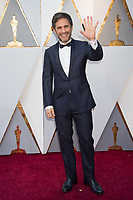 Gael Garcia Bernal arrives on the red carpet of The 90th Oscars&reg; at the Dolby&reg; Theatre in Hollywood, CA on Sunday, March 4, 2018.<br /> *Editorial Use Only*<br /> CAP/PLF/AMPAS<br /> Supplied by Capital Pictures