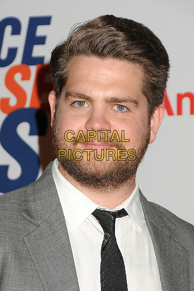 Jack Osbourne.19th Annual Race To Erase MS held at the Hyatt Regency Century Plaza Hotel, Century City, California, USA, .18th May 2012..portrait headshot white shirt beard facial hair  black grey gray suit .CAP/ADM/BP.©Byron Purvis/AdMedia/Capital Pictures.