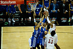 during their game as UK won 71-58 at the KFC Yum Center on Saturday Dec. 29, 2018 in Louisville, Ky.