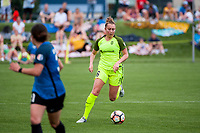 Kansas City, MO - Saturday June 17, 2017: Lindsay Elston during a regular season National Women's Soccer League (NWSL) match between FC Kansas City and the Seattle Reign FC at Children's Mercy Victory Field.