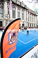 09-02-13, Tennis, Rotterdam, qualification ABNAMROWTT, streettennis